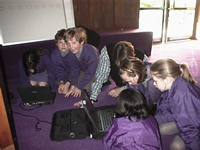 early 1990s laptop use in schools
